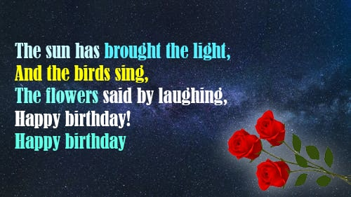 birthday Quotes, Messages and status